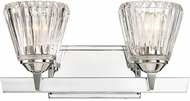 Savoy House 8-9020-2-11 Dresden Chrome 2-Light Vanity Light