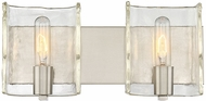 Savoy House 8-9053-2-SN Handel Contemporary Satin Nickel 2-Light Bathroom Light Fixture