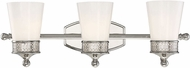Savoy House 8-9240-3-109 Hammond Polished Nickel 3-Light Bath Lighting Sconce