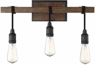 Savoy House 8-993-3-41 Burgess Modern Durango 3-Light Bath Light Fixture
