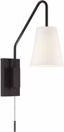 Savoy House 9-0900CP-1-13 Owen Modern English Bronze Swing Arm Wall Lamp