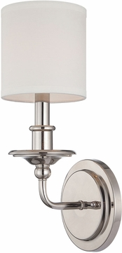 Savoy House 9-1150-1-109 Aubree Polished Nickel Lighting Wall Sconce