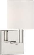 Savoy House 9-1200-1-109 Waverly Polished Nickel Wall Sconce