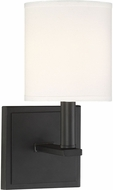 Savoy House 9-1200-1-89 Waverly Matte Black Sconce Lighting