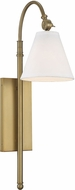Savoy House 9-1201-1-322 Rutland Warm Brass Lamp Sconce