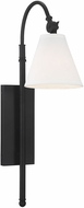 Savoy House 9-1201-1-89 Rutland Matte Black Wall Light Fixture