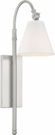 Savoy House 9-1201-1-SN Rutland Satin Nickel Lighting Wall Sconce