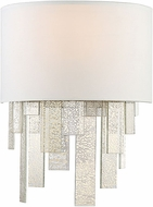 Savoy House 9-20002-1-109 Fairmont Contemporary Polished Nickel Wall Light Sconce