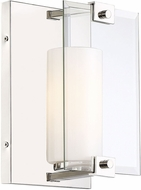 Savoy House 9-21002-1-109 Ridgefield Contemporary Polished Nickel Wall Sconce