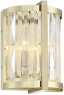 Savoy House 9-2143-2-127 Cologne Noble Brass Wall Sconce Lighting