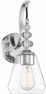 Savoy House 9-2153-1-11 Apollo Contemporary Polished Chrome Wall Light Fixture