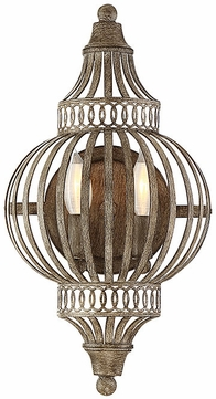 Savoy House 9-2302-2-45 Ashford Aged Wood Wall Lamp