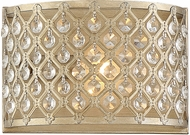 Savoy House 9-2404-1-98 Regis Contemporary Pyrite Sconce Lighting