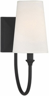 Savoy House 9-2542-1-89 Cameron  Matte Black Lighting Wall Sconce