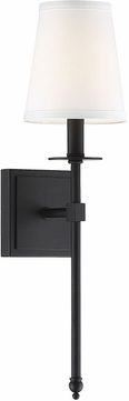 Savoy House 9-302-1-89 Monroe Matte Black Lighting Sconce