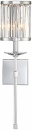 Savoy House 9-400-1-11 Ashbourne Contemporary Polished Chrome Wall Light Sconce