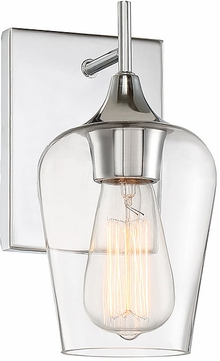 Savoy House 9-4030-1-11 Octave Contemporary Polished Chrome Wall Lamp