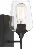Savoy House 9-4030-1-BK Octave Modern Black Light Sconce