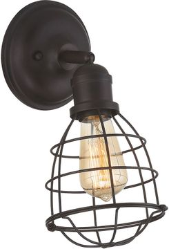Savoy House 9-4137-1-13 Scout English Bronze Wall Swing Arm Lamp