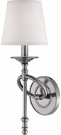 Savoy House 9-4156-1-187 Foxcroft Modern Brushed Pewter Wall Sconce Light
