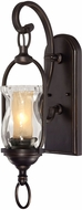 Savoy House 9-6723-1-213 Shadwell English Bronze w Gold Lighting Sconce