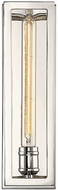 Savoy House 9-900-1-109 Clifton Contemporary Polished Nickel Wall Light Sconce