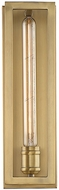 Savoy House 9-900-1-322 Clifton Modern Warm Brass Wall Lighting Fixture