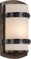 Savoy House 9-9546-1-196 Alsace Rustic Reclaimed Wood Wall Sconce