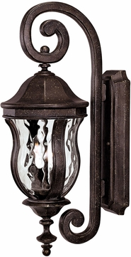 Savoy House 5-305-40 Monticello Walnut Patina Outdoor Sconce Lighting