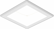 Seagull 14301S-15 Traverse Unlimited Contemporary White LED Indoor / Outdoor Recessed Lighting