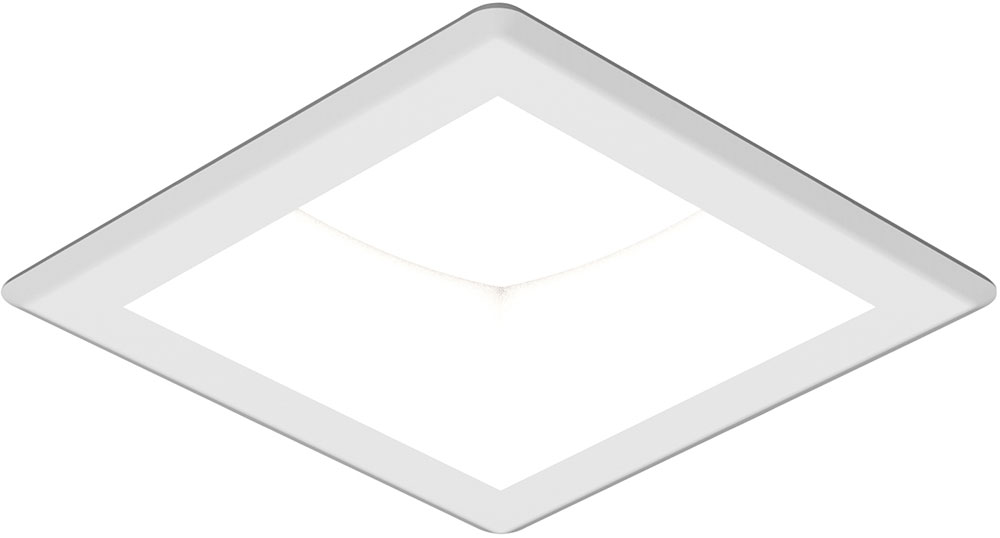 Seagull 14301s 15 Traverse Unlimited Contemporary White Led Indoor Outdoor Recessed Lighting