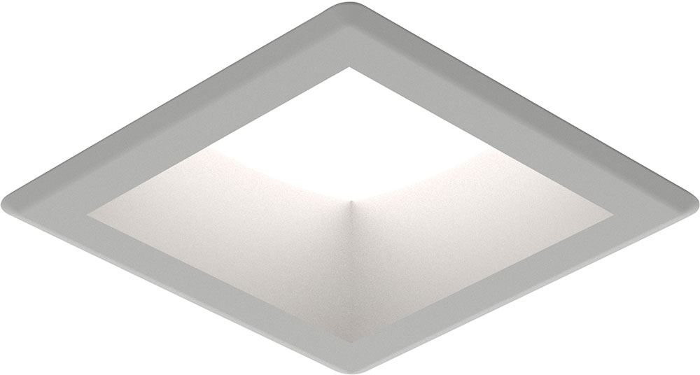 Seagull 14301s 849 Traverse Unlimited Contemporary Satin Nickel Led Indoor Outdoor Recessed Lighting Fixture