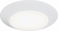 Seagull 14916RD-15 Traverse Mirage Contemporary White LED Ceiling Lighting