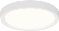 Seagull 14925RD-15 Traverse Lotus Contemporary White LED Ceiling Light Fixture