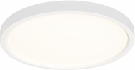 Seagull 14927RD-15 Traverse Lotus Contemporary White LED Flush Mount Lighting