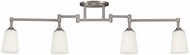 Seagull 2530404EN3-962 Track Lighting Contemporary Brushed Nickel LED Track Light