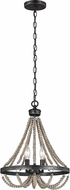 Seagull 3101902-872 Oglesby Washed Pine 13  Pendant Lighting