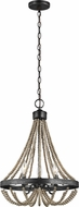 Seagull 3101903-872 Oglesby Washed Pine 16  Pendant Light