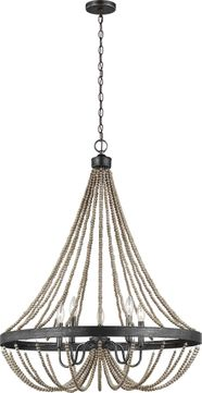 Seagull 3101905-872 Oglesby Washed Pine 29 Pendant Lamp
