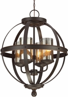 Seagull 3110404-715 Sfera Modern Autumn Bronze Lighting Chandelier