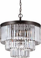 Seagull 3114004EN-710 Carondelet Burnt Sienna LED Pendant Lighting