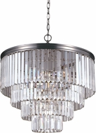 Seagull 3114006-965 Carondelet Antique Brushed Nickel Mini Hanging Light