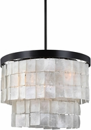 Seagull 3125003-782 Corsicana Modern Heirloom Bronze Hanging Pendant Lighting