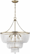 Seagull 3180706EN-848 Jackie Contemporary Satin Brass LED Hanging Light