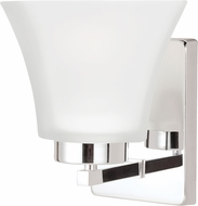 Seagull 4111601EN-05 Bayfield Contemporary Chrome LED Lamp Sconce