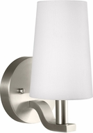 Seagull 4128001-962 Nance Contemporary Brushed Nickel LED Wall Lighting