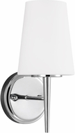Seagull 4140401-05 Driscoll Modern Chrome Wall Sconce