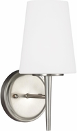 Seagull 4140401-962 Driscoll Modern Brushed Nickel Wall Lighting