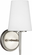 Seagull 4140401EN3-962 Driscoll Modern Brushed Nickel LED Lighting Sconce