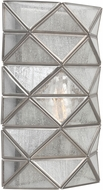 Seagull 4141401EN-965 Harambee Modern Antique Brushed Nickel LED Wall Lighting Sconce